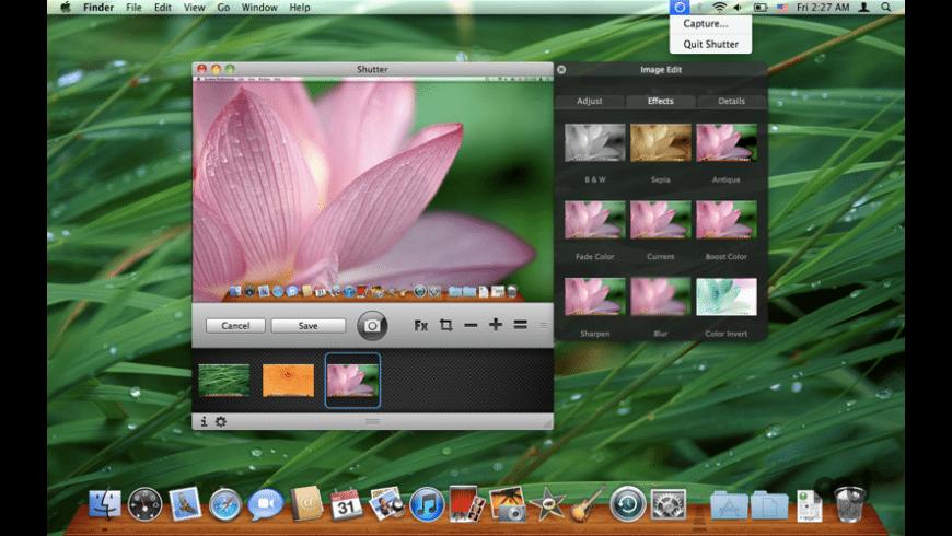 Shutter for Mac - review, screenshots