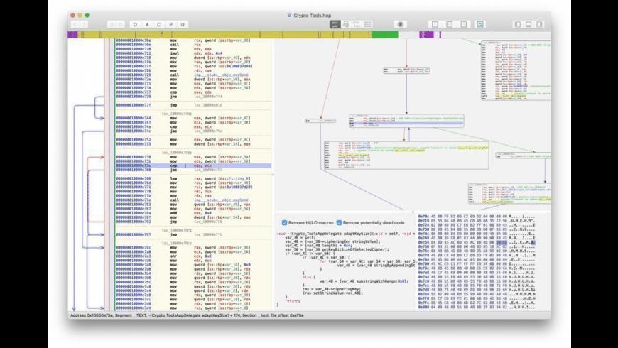 Hopper Disassembler for Mac - review, screenshots