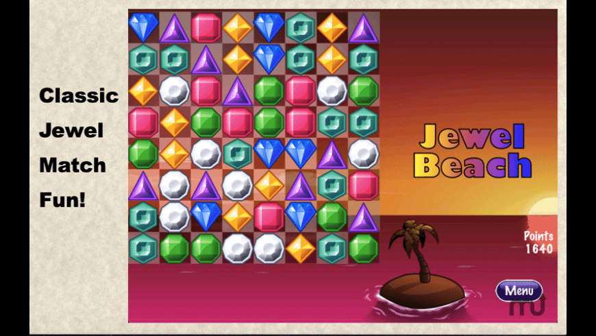 Jewel Beach! for Mac - review, screenshots