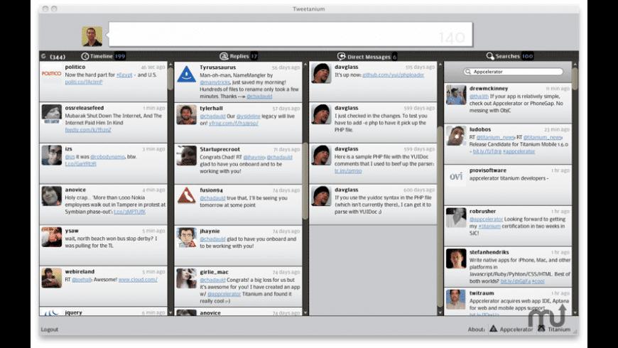 Tweetanium for Mac - review, screenshots