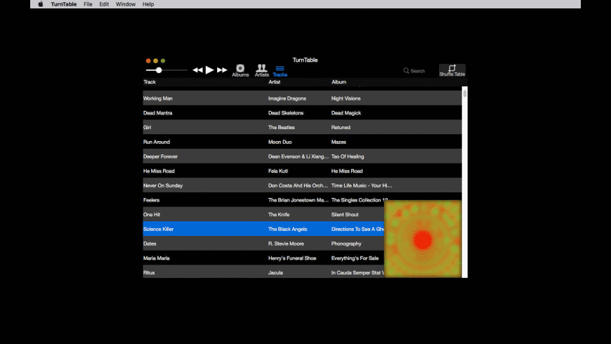 TurnTable for Mac - review, screenshots