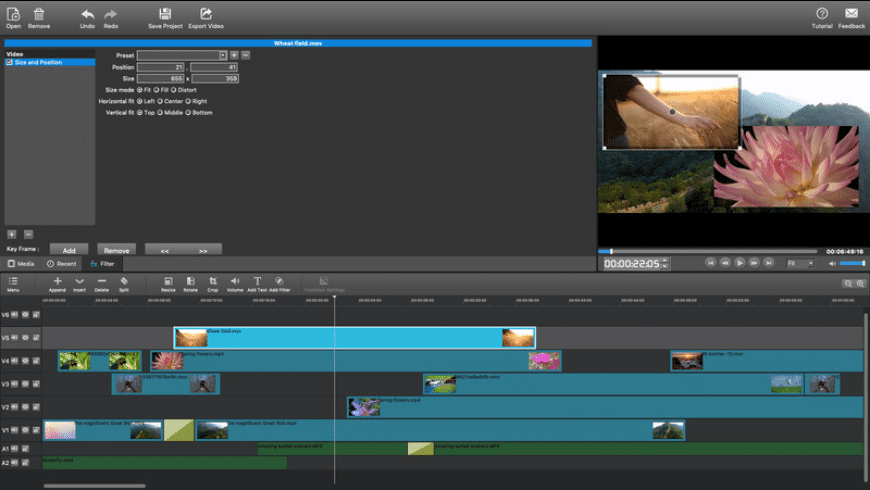 MovieMator Video Editor Pro for Mac - review, screenshots