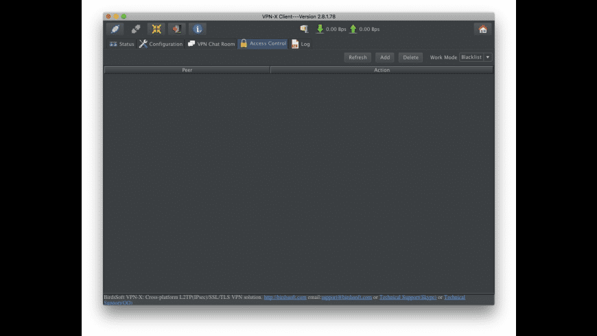 VPN-X Client for Mac - review, screenshots