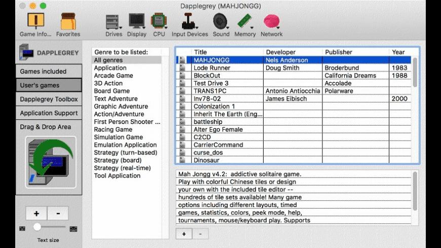 Dapplegrey for Mac - review, screenshots