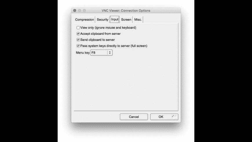 TigerVNC for Mac - review, screenshots