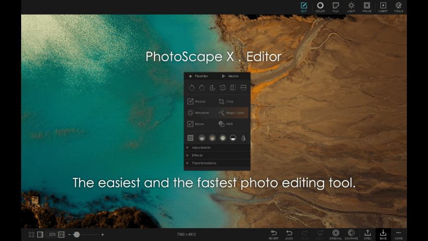 PhotoScape X for Mac - review, screenshots