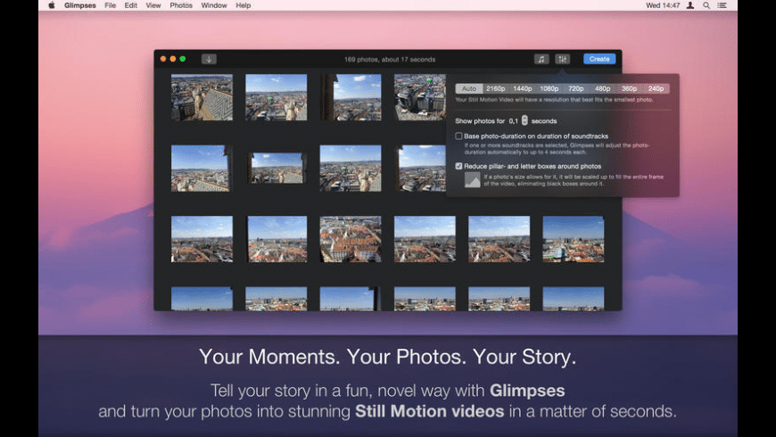 Glimpses for Mac - review, screenshots