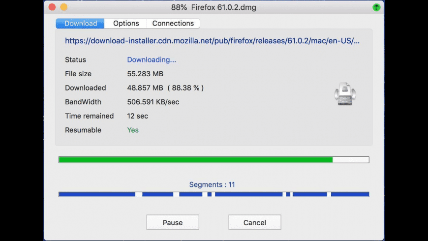 Neat Download Manager for Mac - review, screenshots