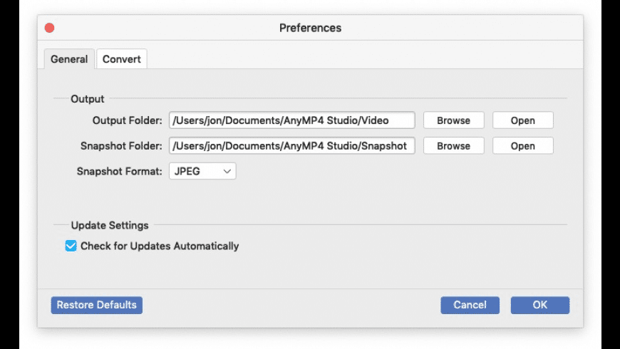 AnyMP4 Audio Converter for Mac - review, screenshots