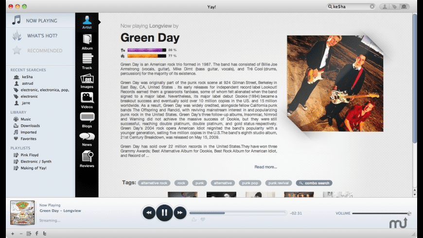 Yay! for Mac - review, screenshots