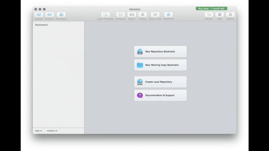 Versions for Mac - review, screenshots
