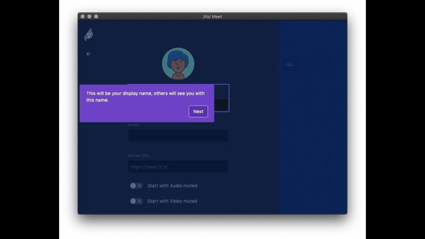 Jitsi Meet for Mac - review, screenshots