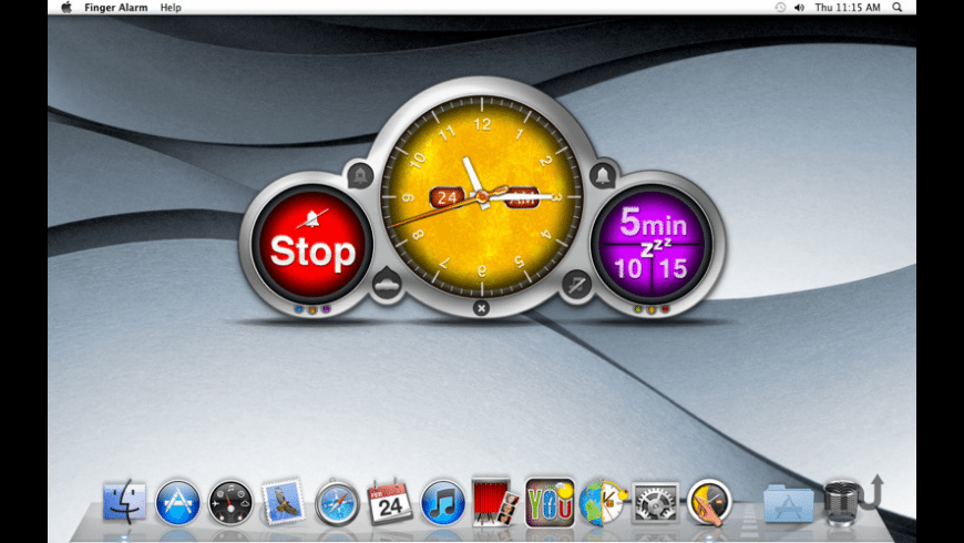 Finger Alarm for Mac - review, screenshots