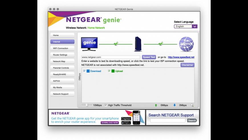 Netgear Genie for Mac - review, screenshots