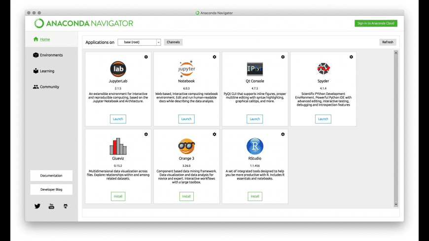Anaconda for Mac - review, screenshots