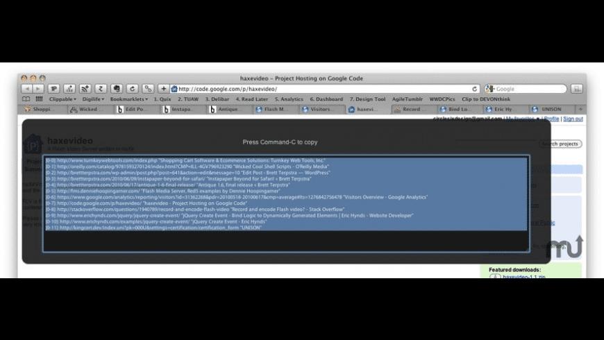 TabLinks Safari Extension for Mac - review, screenshots