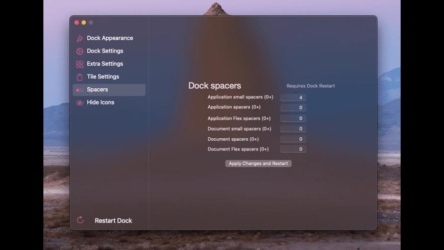 cDock for Mac - review, screenshots