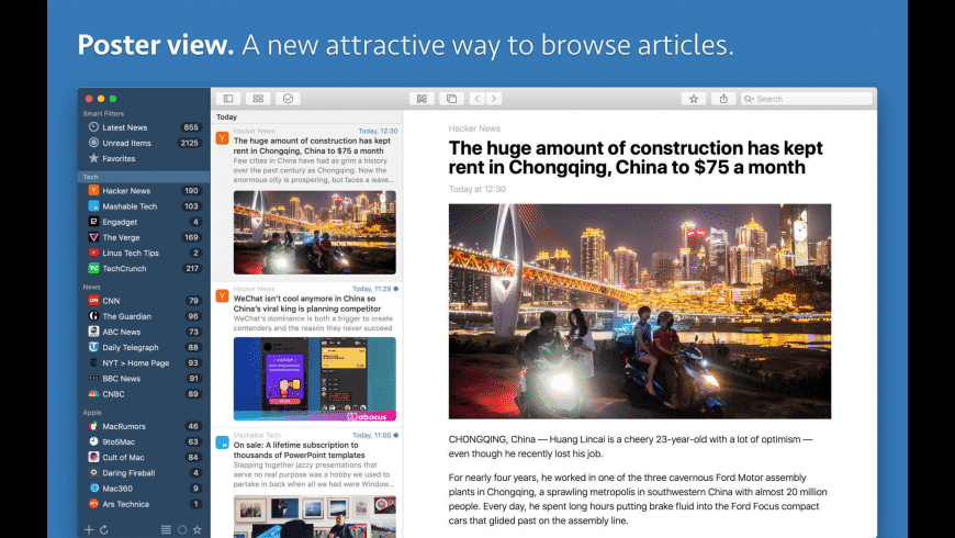 News Explorer for Mac - review, screenshots