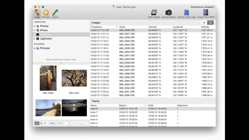 HoudahGeo for Mac - review, screenshots
