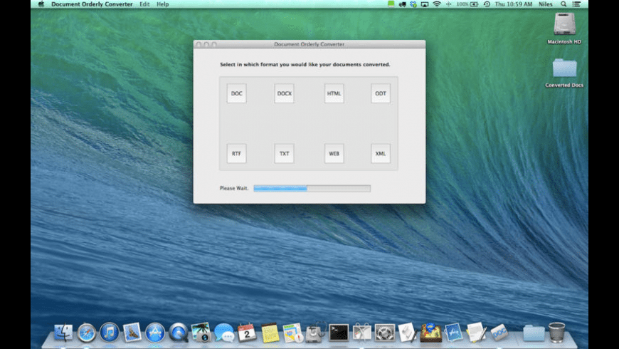 Document Orderly Converter for Mac - review, screenshots