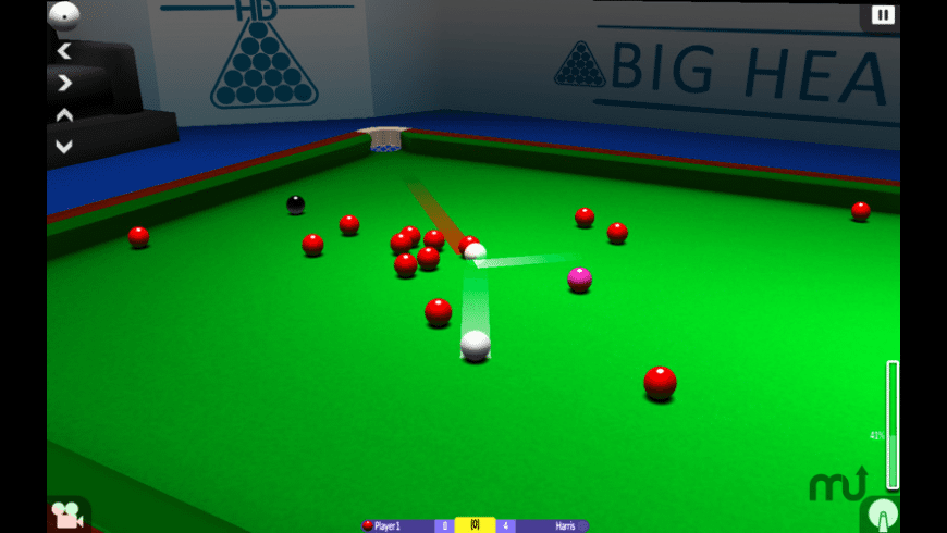 International Snooker HD for Mac - review, screenshots