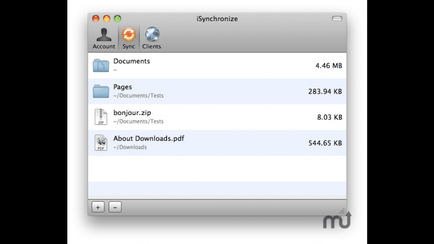 iSynchronize for Mac - review, screenshots