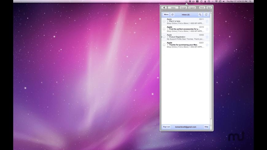 G Bar for Mac - review, screenshots