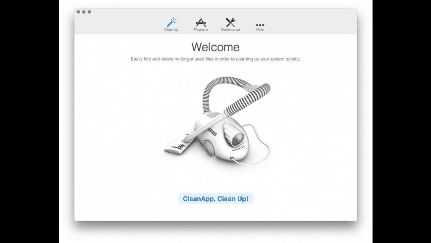 CleanApp for Mac - review, screenshots