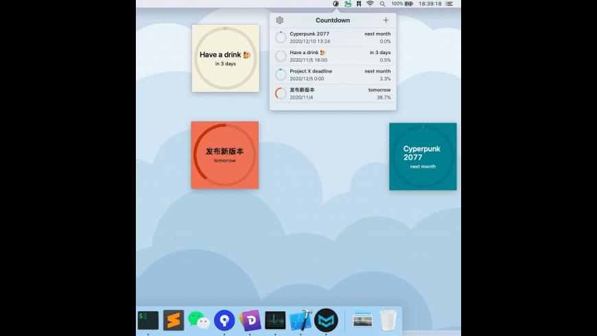 Countdown for Mac - review, screenshots
