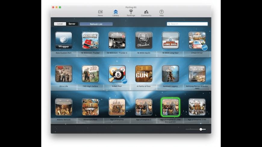 Porting Kit for Mac - review, screenshots