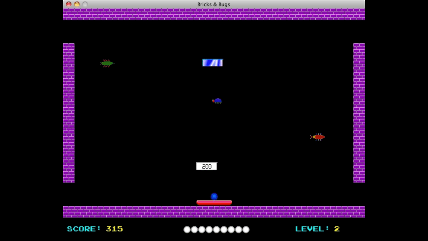 Bricks & Bugs for Mac - review, screenshots