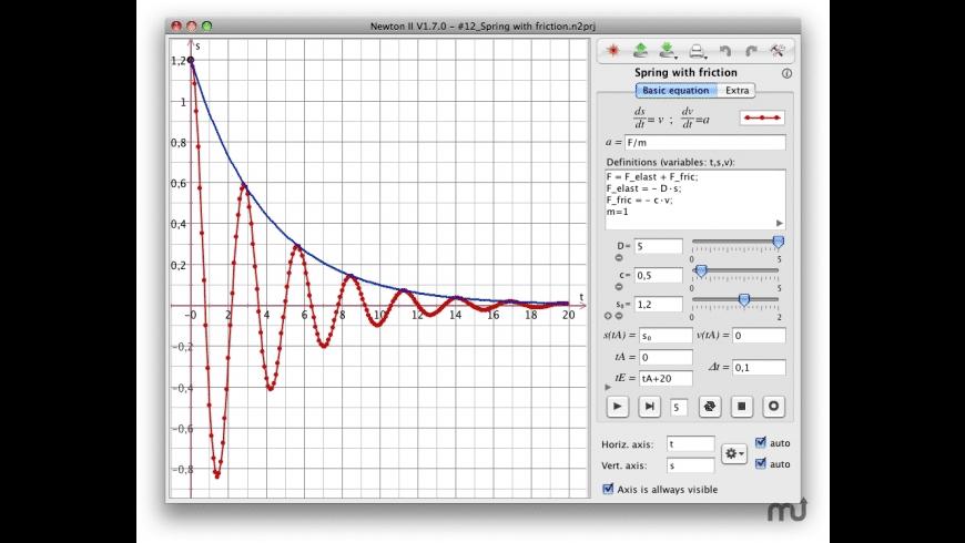 Newton-II for Mac - review, screenshots