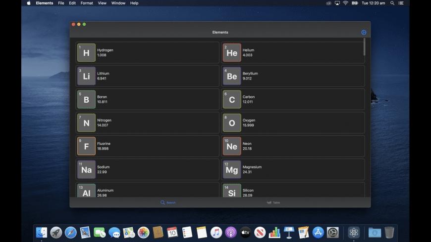 Elements for Mac - review, screenshots