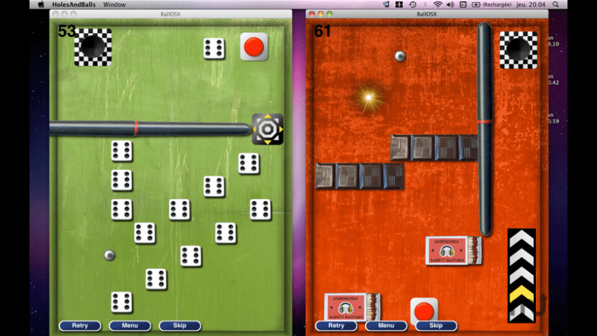 Holes and Balls for Mac - review, screenshots