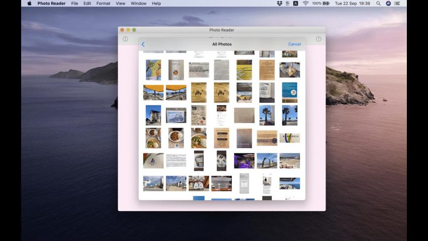 Photo Reader for Mac - review, screenshots