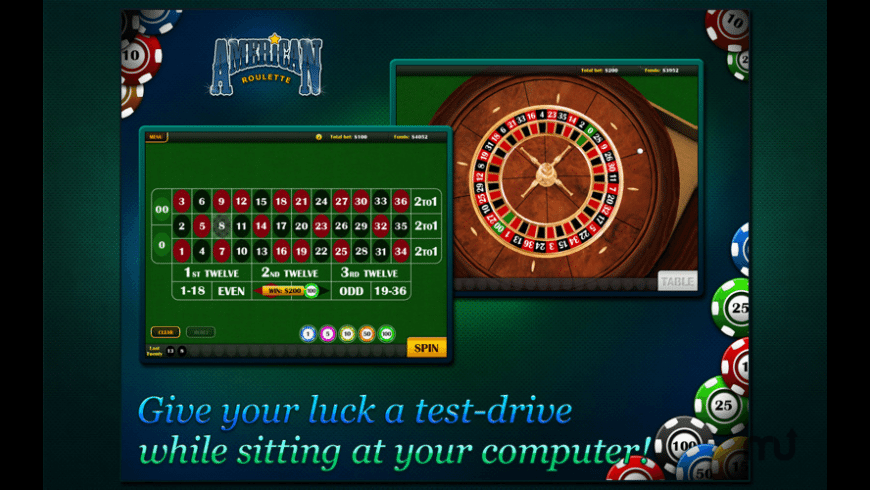 Roulette 3D for Mac - review, screenshots