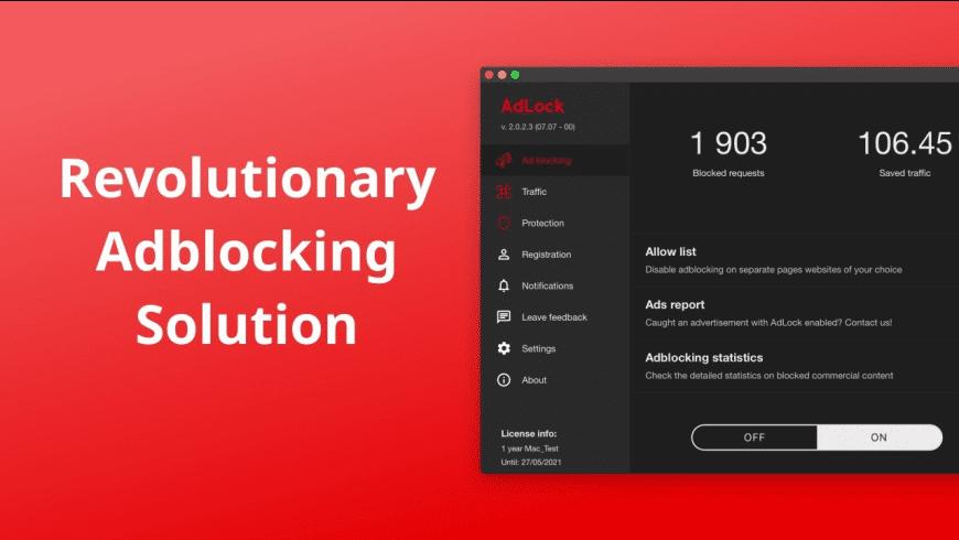 AdLock for Mac - review, screenshots
