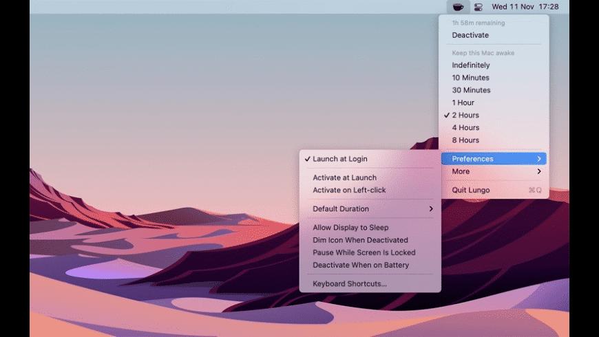 Lungo for Mac - review, screenshots