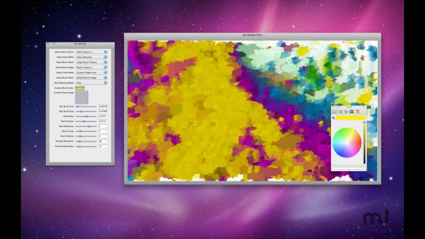Eye Splatter Paint for Mac - review, screenshots