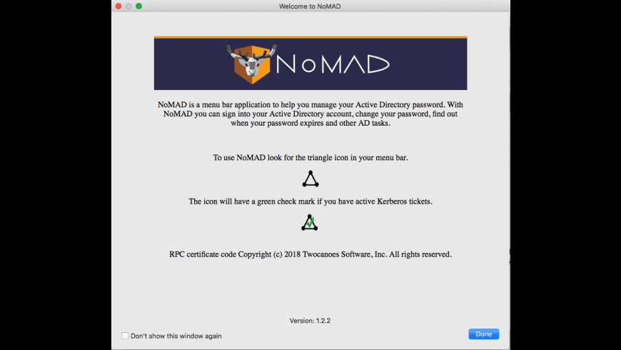 NoMAD for Mac - review, screenshots