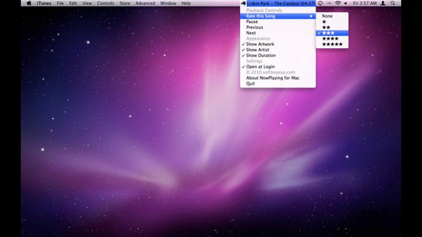 NowPlaying for Mac - review, screenshots