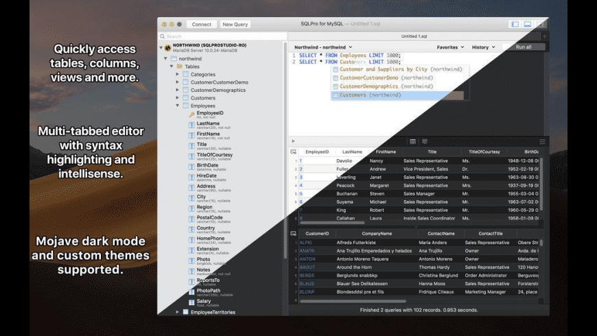SQLPro for MySQL for Mac - review, screenshots