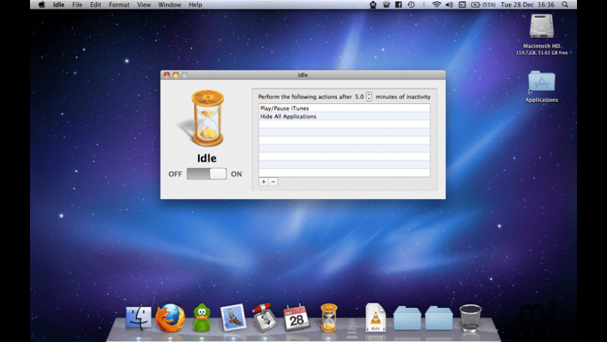 Idle for Mac - review, screenshots
