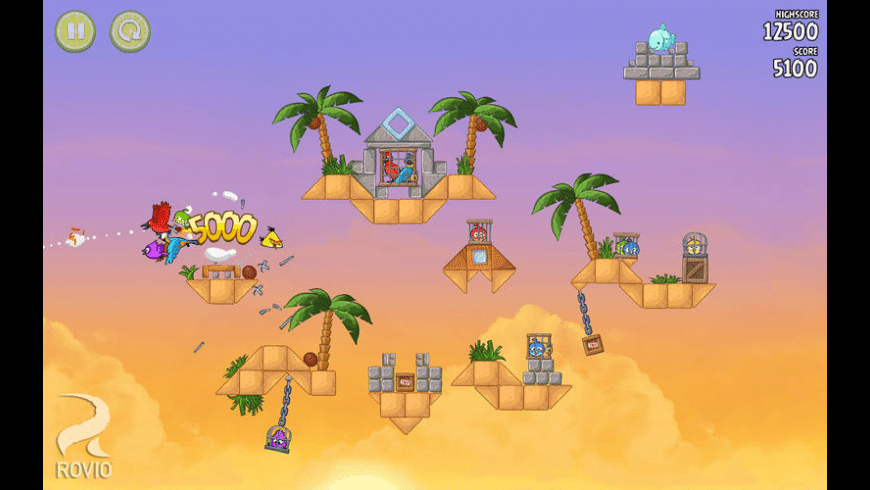 Angry Birds Rio for Mac - review, screenshots
