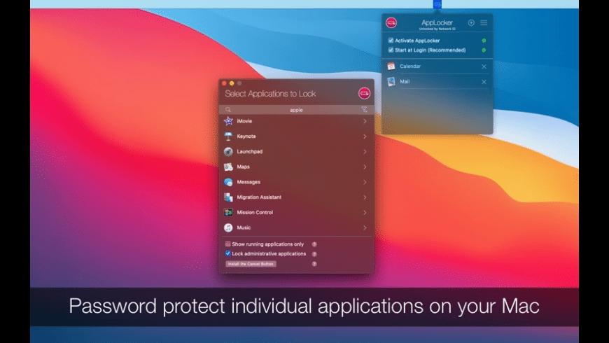 AppLocker for Mac - review, screenshots