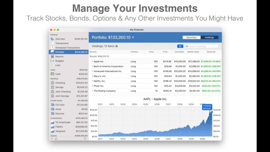SEE Finance for Mac - review, screenshots