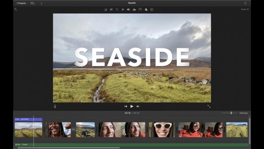 iMovie for Mac - review, screenshots