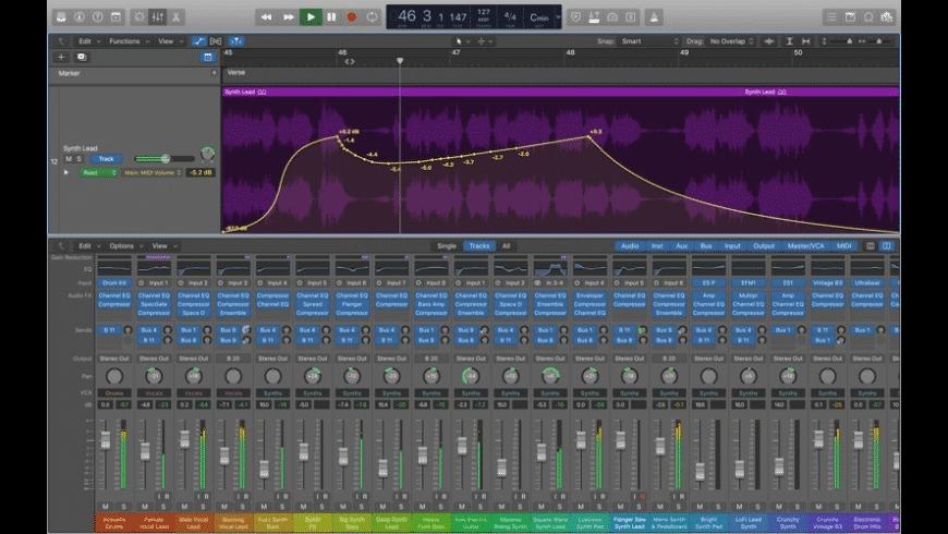 Logic Pro for Mac - review, screenshots