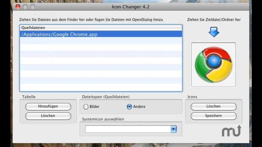 IconChanger for Mac - review, screenshots