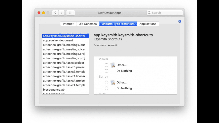 SwiftDefaultApps for Mac - review, screenshots